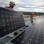 Solarpanel Montage